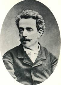 Der italienische Librettist Antonio Ghislanzoni.