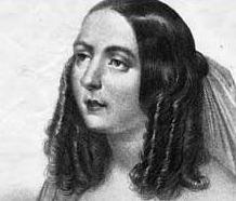 Eugenia Tadolini als Maria in Wien 1843.