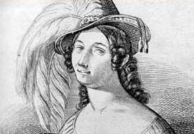 Marietta Brambilla als Armando in Paris 1843.