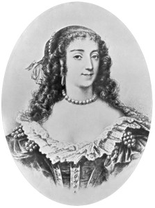 Die historische Marie de Rohan Montbazon, Herzogin von Chevreuse.