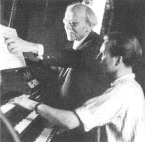 Richter, Klar - Orgelunterricht bei Straube
