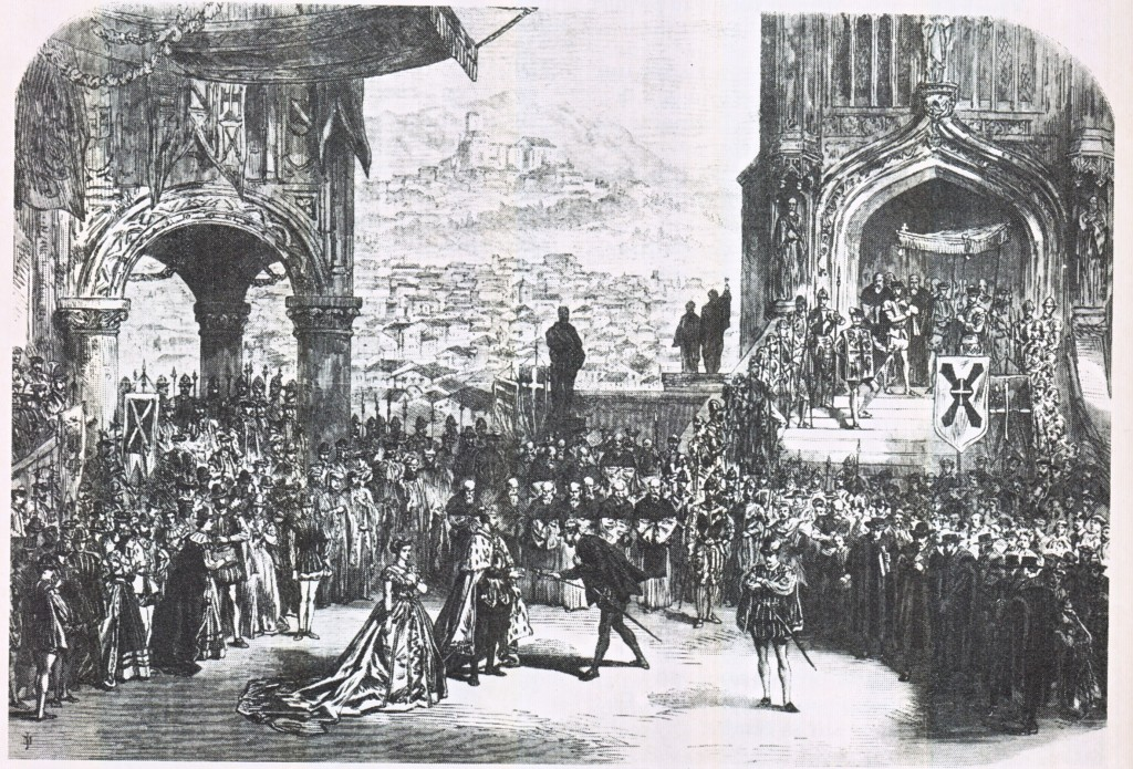 Szene Don Carlos London 1867