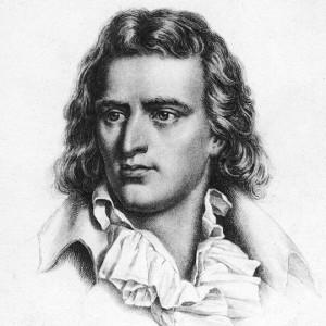 Der deutsche Dichter Friedrich Schiller.