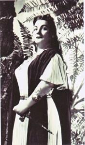 Caterina Mancini als Norma an der Scala 1958/HeiB