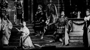 """Die berühmte EMI-Aufahme: """"Idomeneo"""" im Querschnitt unter Fritz Busch mit Sena Jurinac, Richard Lewis, Birtgit Nilsson und Léopold Simoneau/Foto AngusMCBean/Glyndebourne Archive"""