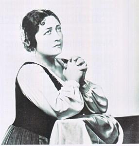 Ebe Stignani als Santuzza an der Met/HeiB