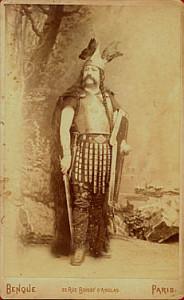 Der Tenor Gresse als Sigurd/J. Mucci