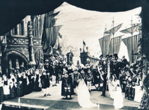 Szene aus der Erst-Aufführung der Schippers-Fassung in Spoleto 1959/HeiB