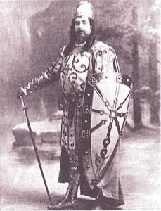 Der Tenor Paul Franz als Sigurd/J. Mucci