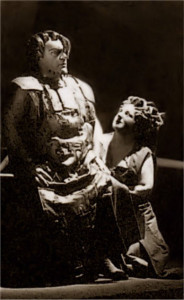 als Brünnhilde mit Josef Greindl in Berlin/Buhs/DOB