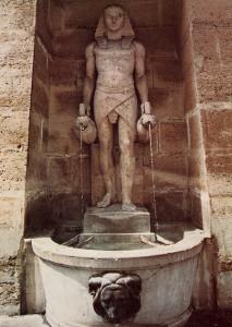 Ägyptischer Brunnen in Paris(OBA