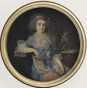 Mlle Maillard war der Haussopran am Théâtre de la Rwepublique/Gallica