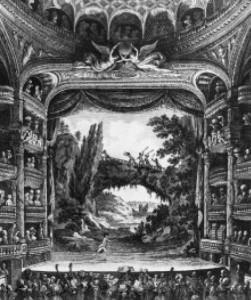 Das Innere des Théâtre de la République/Gallica