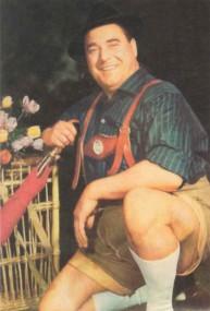 Josef Traxel als Vogelhändler Adam auf einem Cover in der Box