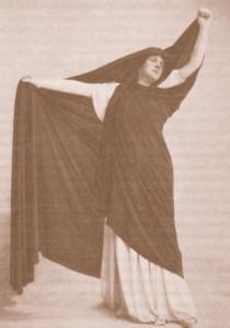"""Les Barbares"": die Sopranistin Heglon als Livia/Foto Bibl. Historique Ville de Paris/Ediciones Singolares"