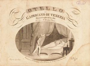 """Frontespiece für den Klavierauszug des """"Otello""""/OBA"""
