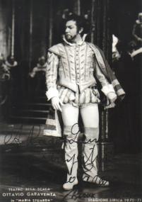 "Garaventa als Leicester in ""Maria Stuarda"" an der Scala 1970/OBA"