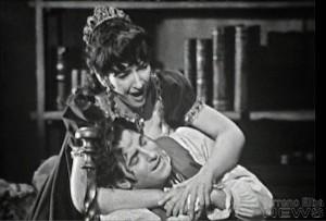 Cavaradossi mit Maria Callas an Covent Garden/EMI