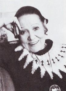 Auch im Alter eine schöne Frau: Bidy Sayao/Foto Opera News