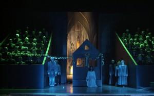 """Szene aus """"Der Rose Pilgerfahrt"""" von Schumann in Zwickau 2005/Foto Theater Plauen-Zwickau/Huhn"""