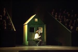 """""""Der Rosae Pilgerfahrt"""" in Zwickau 2005/Theater Plauen-Zwickau/Huhn"""