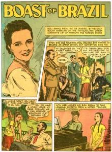 Der Stolz von Brasilien: Sayao in Comic-Heften/OBA