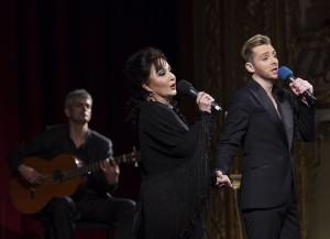 Debüt in Rumänien: Elena Moşuc & Gonçalo Salgueiro in OperFado Show/© OperFado Opera Națională Română Iași 2014