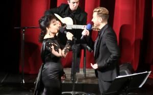 Elena Moşuc & Gonçalo Salgueiro in OperFado Show  © OperFado Opera Națională Română Iași 2014