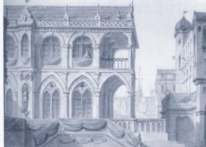 Szene zur Aufführung in München 1805 (?)/IsMG