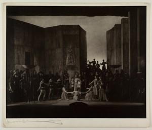 "Glyndebourne: ""Alceste 1953/Finale//Foto Angus McBean/Glyndebourne Archive"