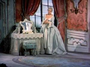 Da ist sie - die wunderbare Sena Jurinac als Contessa 1955 in Glyndebourne/Szene aus dem Film