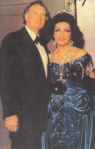 Virginia Zeani: mit Ehemann und Kollegen Nicola Rossi Lemeni/T