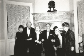 Goldene Zeiten: Carlo Bergonzi, Eve Queler, Licia Albanese und Aprile Millo/Foto Queler