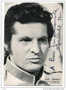 """Ugo Benelli: Tonio in """"La Figlia del Regimento"""" an der Scala/Benelli"""