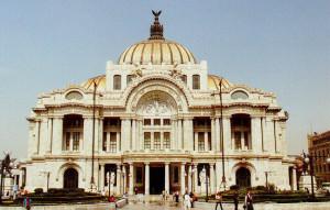 Der Palacio de Bellas Artes in Mexico City/OBA