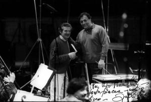"""Ugo Benelli: Probenpause bei der """"Figaro""""-Einspielung unter Zubin Mehta bei Sony/Benelli"""