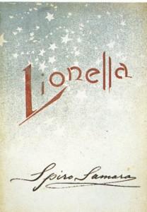 """""""Rhea"""": Cover Klavierauszug """"Lionella""""/Sonzogno"""