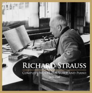 1-CD-Box Alle Klavierlieder Strauss