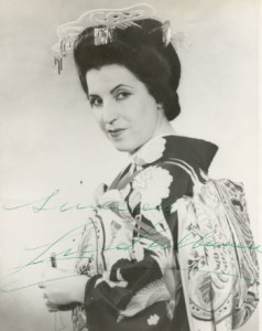 Licia Albanese an der Met/Melancon/Wiki