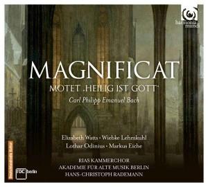 CD Bach, C.Ph.E. Magnificat, Rademann-001