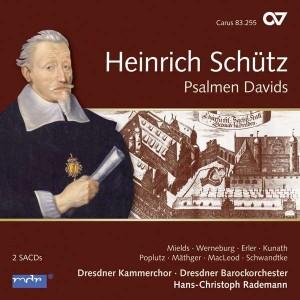 CD Schütz, Psalmen Davids, Rademann-001