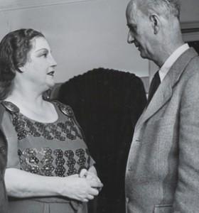 Kirsten Flagstad - hier als Brünnhilde mit Furtwängler in Mailand - ist die am häufigsten dokumentierte Sängerin der Edition
