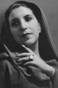 Licia Albanese als Desdemona in San Francisco/SFO