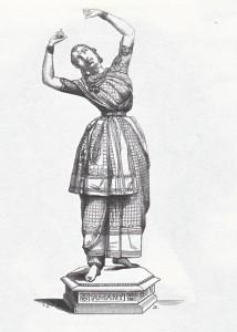 """""""Les Bayadéres"""": anonymer Stich nach einer Statuette von Auguste Barre 1838/Palazetto Bru Zane"""