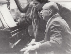 Irma Kolassi: mit Igor Stravinsky am Klavier/Kolassi/INA