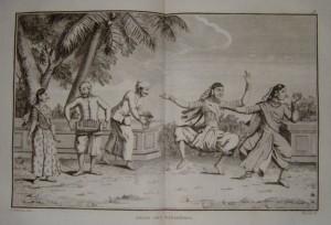 """""""Les Bayadéres"""": Stich um 1830/OBA"""
