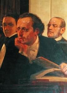 """""""Paria""""/Stanislaw Moniuszko/3 Slawische Komponisten: Michael Kleopas Oginski, Frederic Chopin und Stanislaw Moniusko (aus: Slawische Komponisten, 1890)/OBA"""