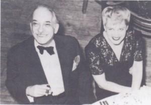 Bruno Granichsteadten mit seiner Frau Rosalie/HafG