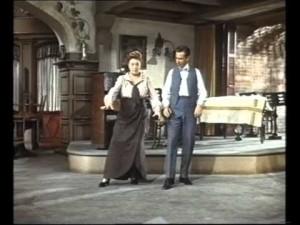 """Romberg: und noch einmal - weils so lustig ist - Helen Traubel und José Ferrer in """"Deep in my herat""""/youtube"""