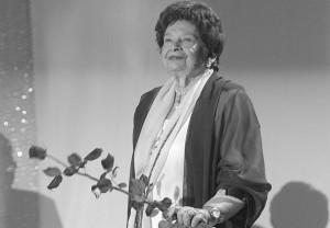 """""""Paria""""/Stanislaw Moniuszko/ die Regisseurin und ehemalige Kulturministerin Maria Foltyn war entscheidend an der Wiederbelebung der Oper beteiligt/AKPA"""